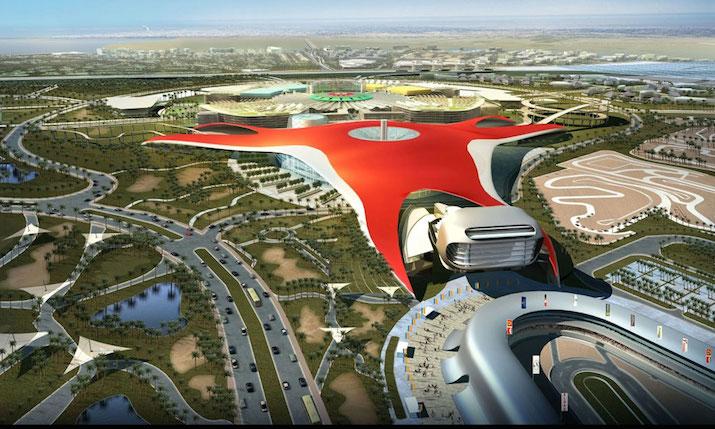 Ferrari_World - Abu Dhabi