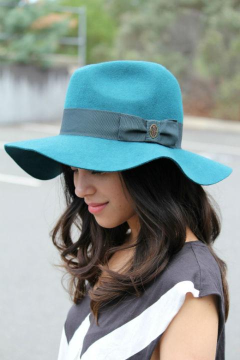 Emilio Pucci Fedora Hat