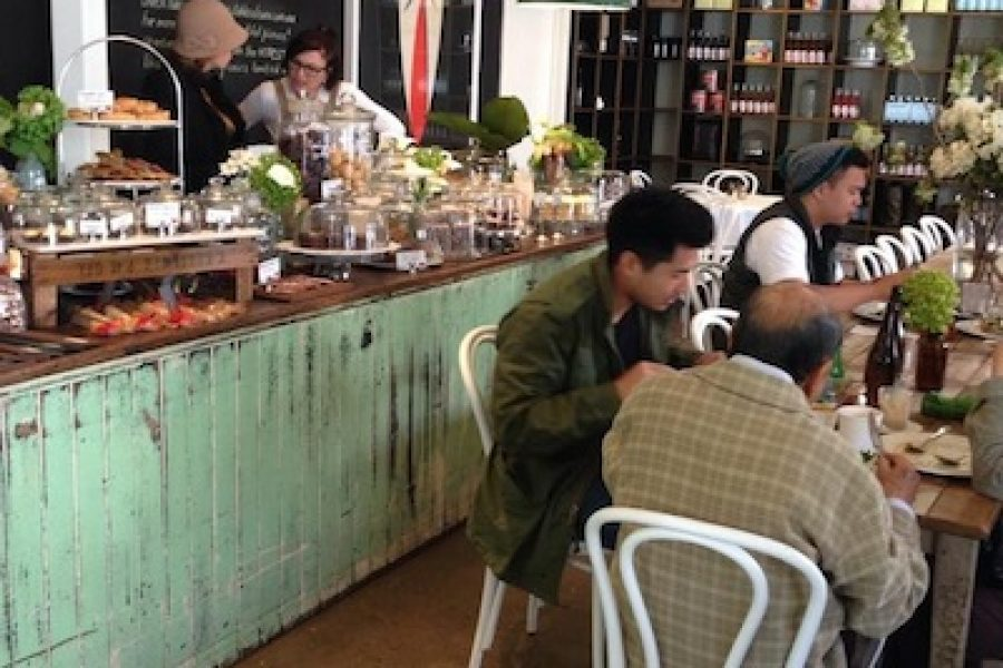 A Melbourne breakfast at Stables of Como
