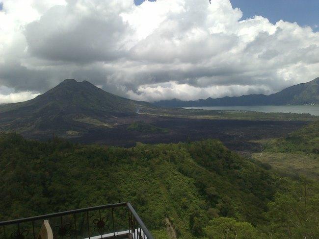 Kintamani (batur vulcano and lake batur)