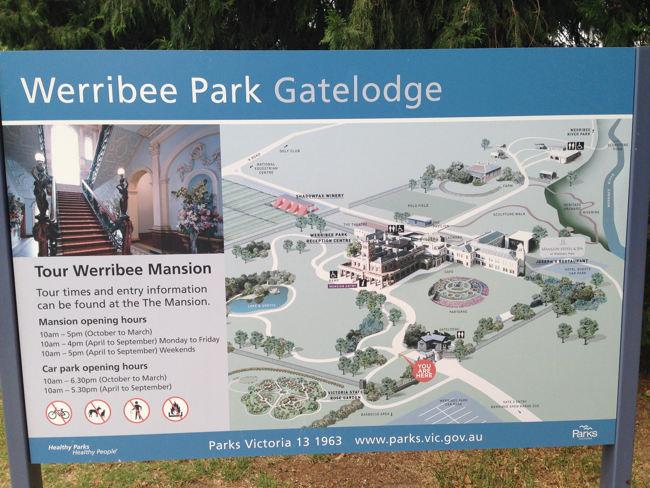 Werribee Mansion flower garden & park (11)
