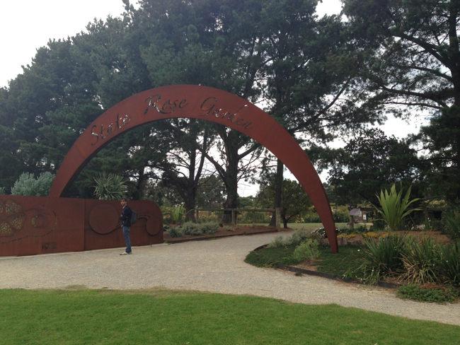 Werribee Mansion flower garden & park (2)