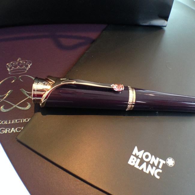 Montblanc bejewelled Princesse Grace de Monaco pen