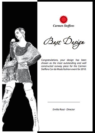 Cor Da Moda Award