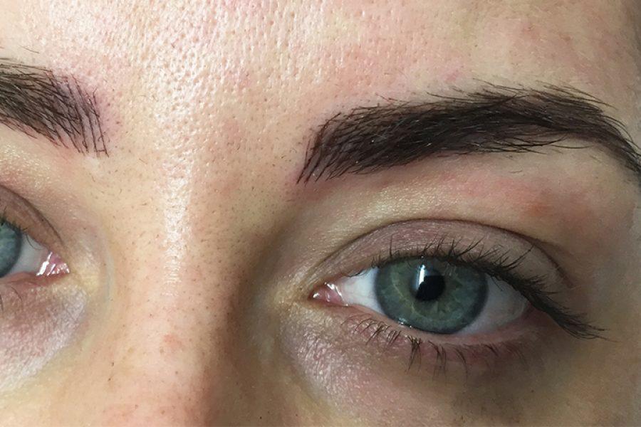 I had my Eyebrows Tattooed