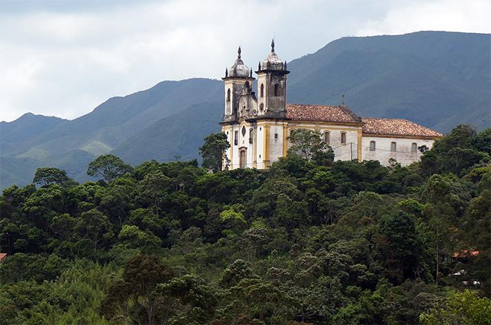 Brazil - Ouro Preto-Emilia-Rossi-Church