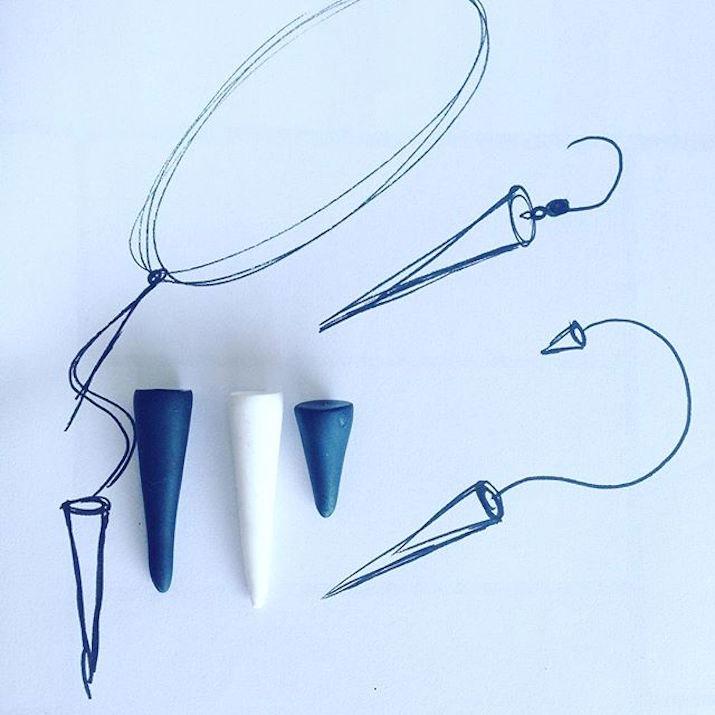 Jewellery-Spike-Earrings-Silver-2