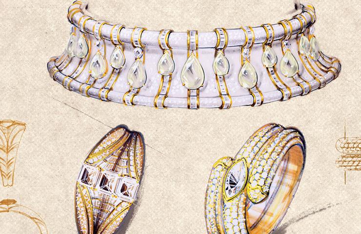 National Gallery of Victoria – Italian Jewels Bulgari Style Exhibition