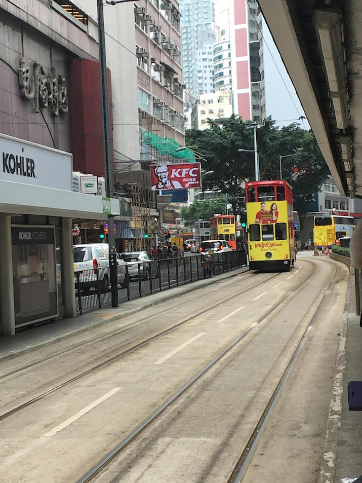 Tram in Hong Kong - Emilia Rossi