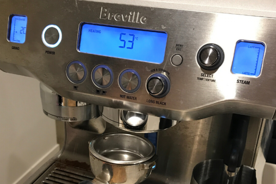 $2.10 for coffee. Introducing my new coffee machine from Breville – The Oracle