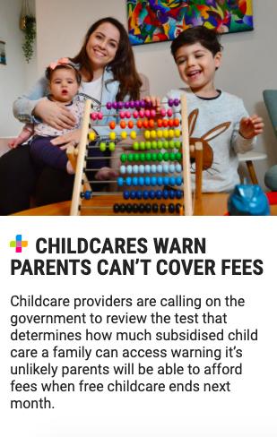 Emilia Rossi childcare fees